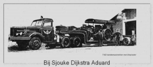 Kromhout bij Sjouke Dijkstra Aduard