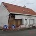 Laatste huis van meulbekestraat(auto ingereden)
