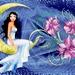 De dame en de maan