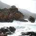 Woeste zee in Porto
