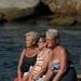 In gedachten verzonken op de Lavezzi eilanden