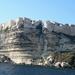 Bonifacio met beroemde krijtrotsen