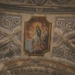 Uitgewerkt plafond in kerk Cargése