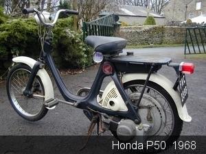 Honda P50  1968