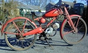 Moto Guzzi Leggara 1953