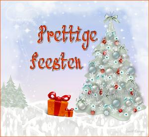 kerstboompje met ballen