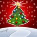 Kerst en nieuwjaarskaart met pen