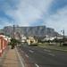 Zicht op Tafelberg vanaf Waterfront