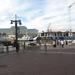 Zicht op Victoria Wharf