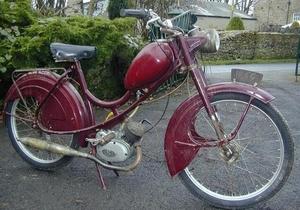 Philips Gadabout 1958 met Sachs motor