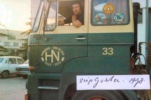 Chauffeur; Siep Gorter