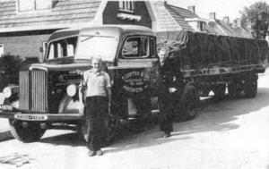Scania + Schommelas Oplegger
