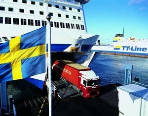 Op de TT ferry
