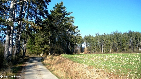 marche adeps wandeling Couvin Ardennen