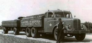 A-13457 Chauffeur  Leendert van Achteren