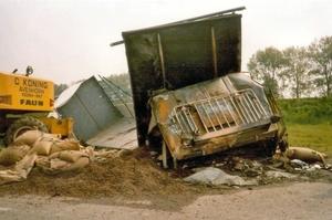 Ongeval  BY-11-ND   bij Hoorn    Chauffeur; Roelof Lutjeboer