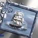 Frame met schip