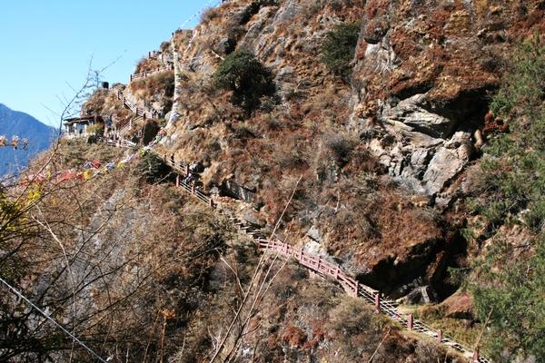 Route naar Taktsang