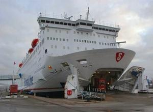 In Kiel van de ferry