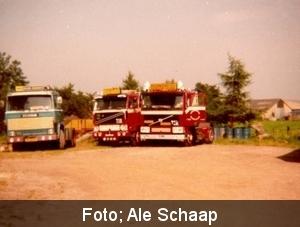 Teake van der Kaap, Piet Broesder en Ale Schaap