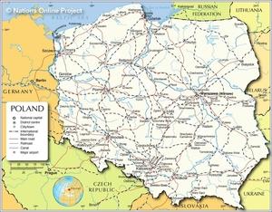 Polen_map