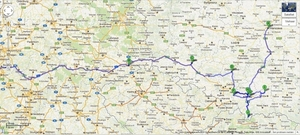 Polen_route