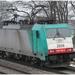 2806 met rode lichten  MORTSEL VLIEGVELD 20120209