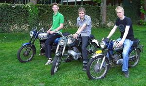 3 jonge Zündapp rijders