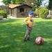 Ward met grote bal