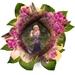 Bewoonde bloemenkrans