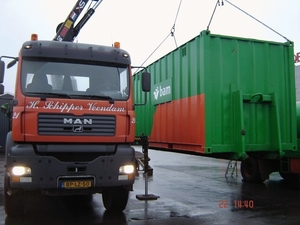 20 fts zeecontainer BAM