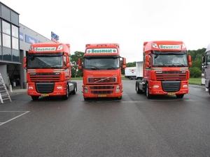 2 X DAF + Volvo