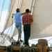 Erling en David de schipper