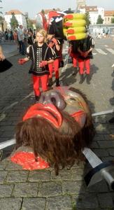 8000 Brugge - de Reus van de Mont-Saint-Michel