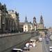 1A Dresden, Bruehlsche Terrasse met de Kunstacademie, Sekundogeni