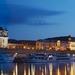 1A Dresden, zicht vanaf de Oder met de torens van het Ständehaus