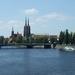 2A Wroclaw, Kathedraal van Wrocław en de Oder