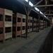 3B Auschwitz,  barakken met dit soort stapelbedden werden honderd