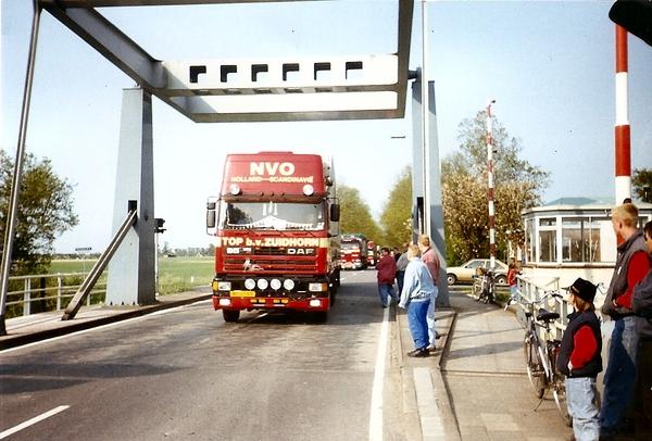 Tijdens Truckers Convooi
