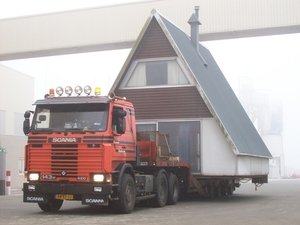 Huis transport