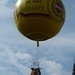 031-Opstijgen gasballon met uitwerpen v.zandzakjes
