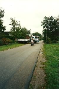 DAF met politie begeleiding