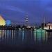 1a Cairo_Nijl en piramide_zicht bij nacht