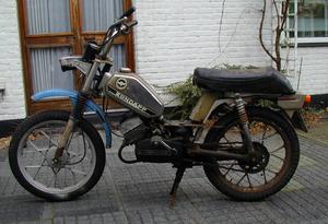 Zündapp ZD 50 1977 .