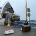 Boonstra rijd de ferry in Helsingborg af
