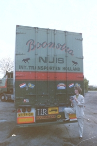Boonstra met Elly Smits