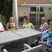 De dames aan tafel