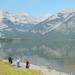 08 - 1e Lake onderweg nr Rockies