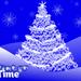 Kerstboom met pentool in Photoshop.