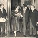 4 JR tijdens bezoek vorst 1960